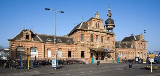 (The old) Delft Railway station