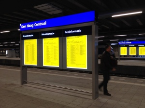 Train time table Holland